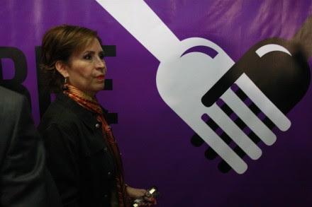 Rosario Robles, titular de Sedesol. Foto: Hugo Cruz.
