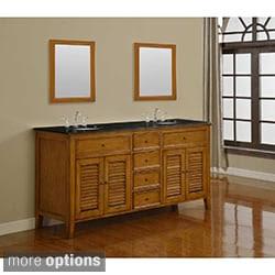 61-70 Inches, Size Double Bathroom Vanities   Overstock.com: Buy