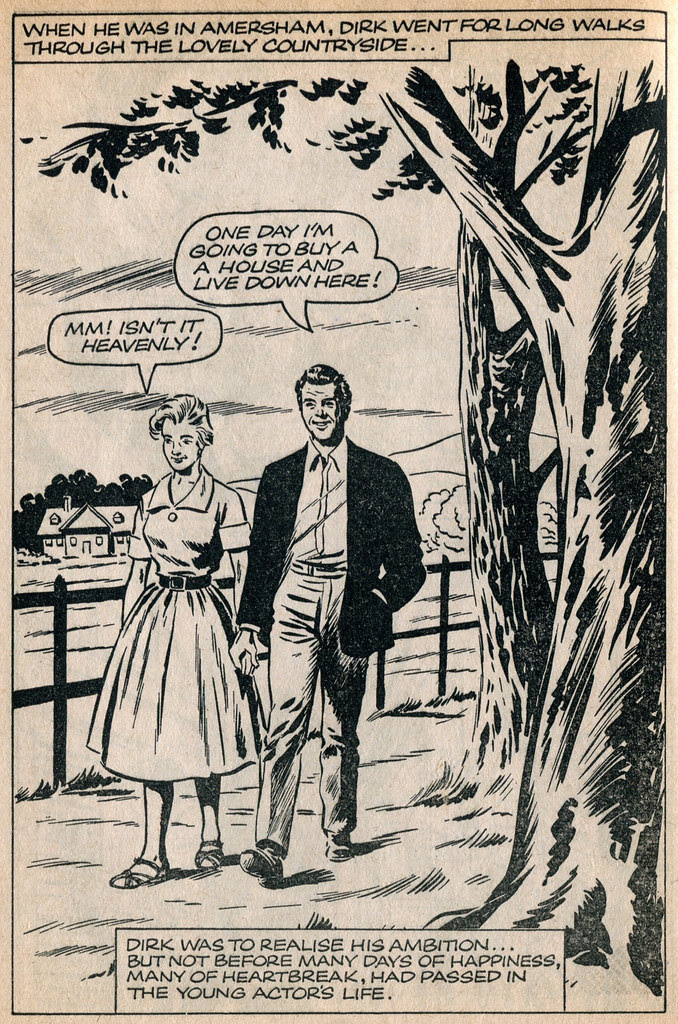 Dirk Bogarde comic 5