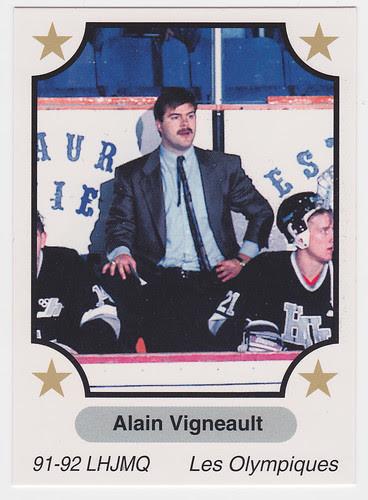 Coach - Alain Vigneault front