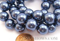 12mm Glass Pearl- Znetshows