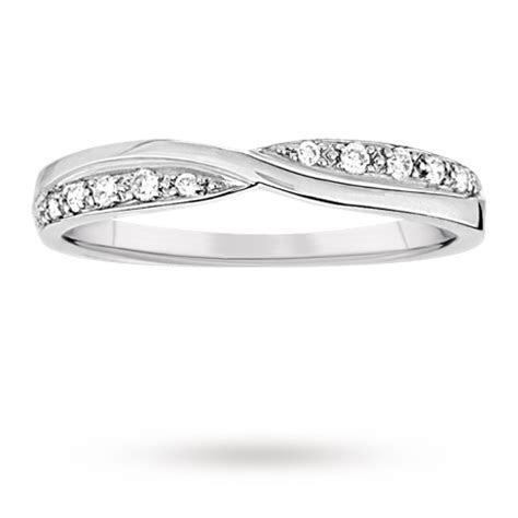 Ladies 0.09 total carat weight diamond set kiss wedding