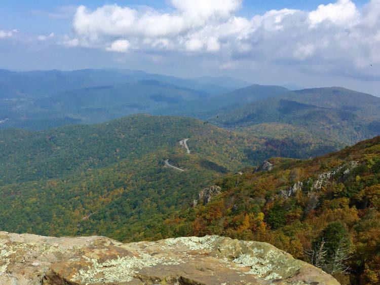 Stony Man Summit view Shenandoah NP