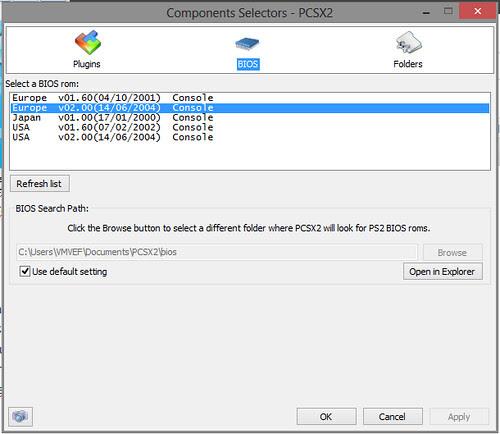 konfigurasi pcsx2 cepat pic