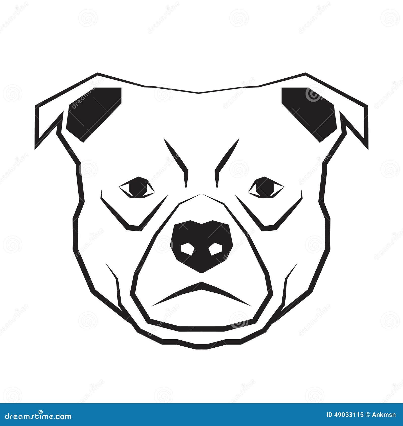 Caras De Perros Pitbull Para Dibujar Wwwtollebildcom