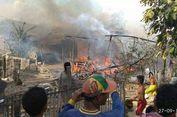 Ditinggal Pemilik, Tujuh Rumah di Bima Terbakar