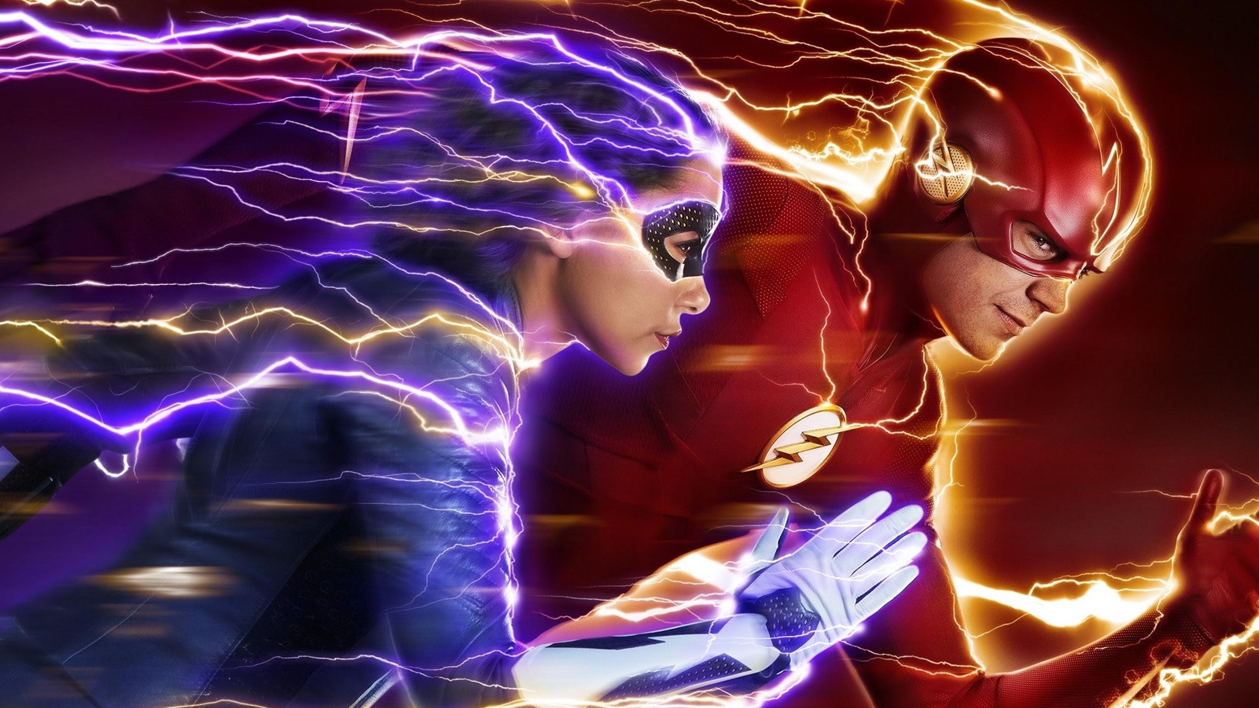 The Flash Nora Season 5 Wallpapers Hd Wallpapers
