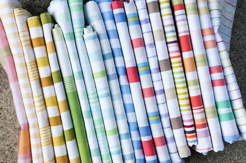 Vintage Sheet Stripes by jenib320