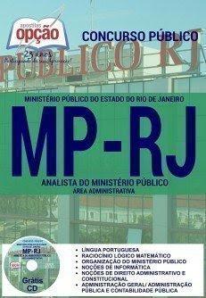 Apostila Concurso MP-RJ ANALISTA 2016