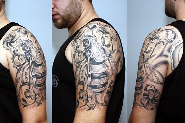 Valiant Gladiator Tattoo Designs (25)