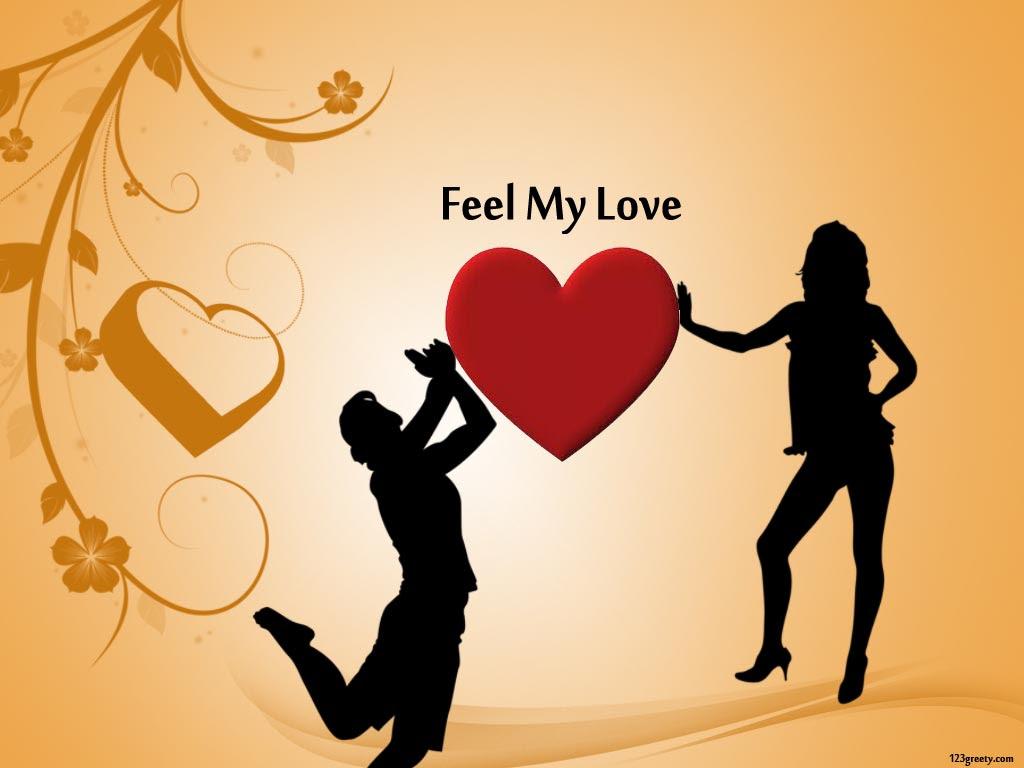 Download Wallpaper And Love Heart Desktop Wallpapers