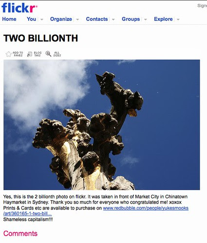 TWO BILLIONTH on Flickr - Photo Sharing!