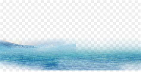 blue wave sky pattern waterriver png