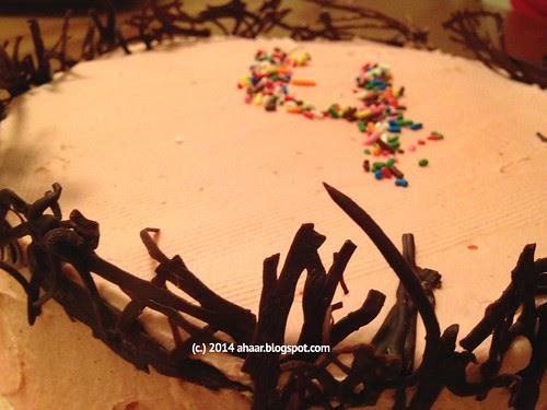 Plain Birthday Cake Waitrose