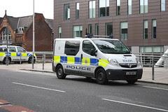 British Transport Police Van