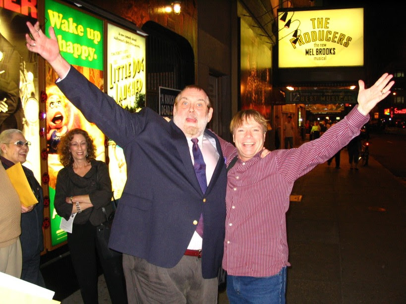 Jim Brochu and Jay Johnson