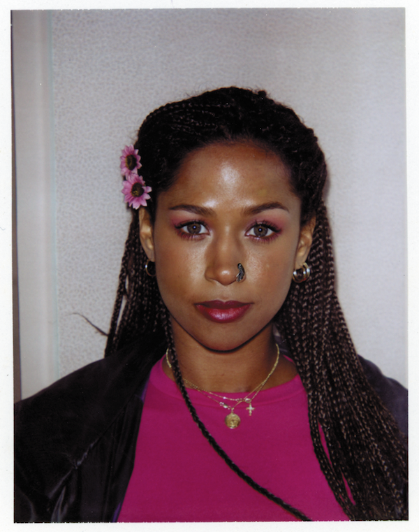 Le Fashion Blog Clueless Movie Film Dionne Stacey Dash 20 Anniversary Book As If Amy Heckerling Behind The Scenes Polaroids Fuchsia Tee