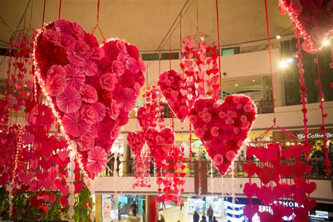 valentines day decor  select citywalk eventalyare