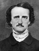 poet Edgar Allan Poe, author of The Raven