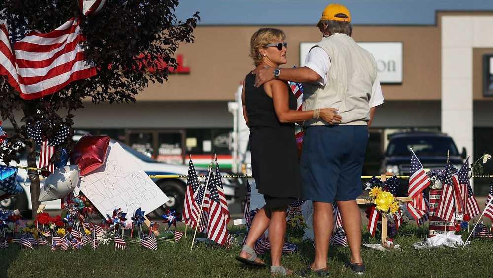 Homenaje a las víctimas de los atentados de Tennessee