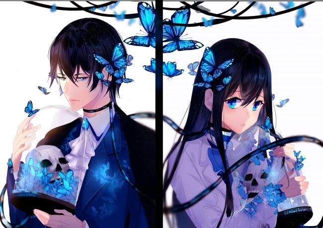 wallpaper pp anime terpisah aesthetic aesthetic
