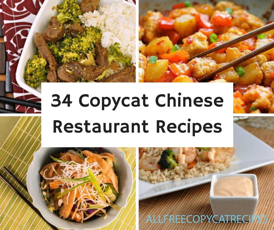 34 Copycat Chinese R