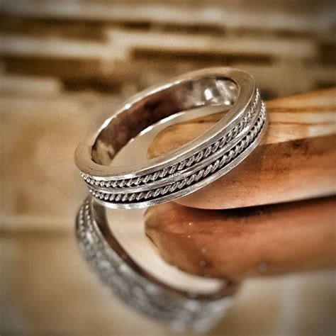 View Full Gallery of Inspirational Reeds Wedding Bands