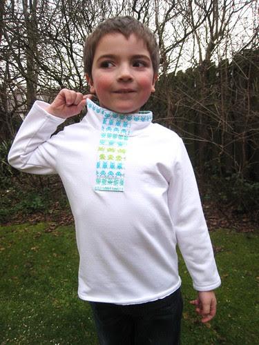 android shirt collar