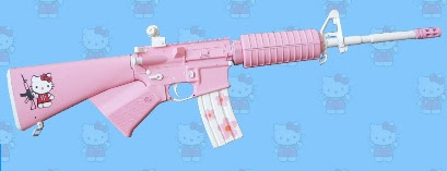 Hello Kitty AR-15
