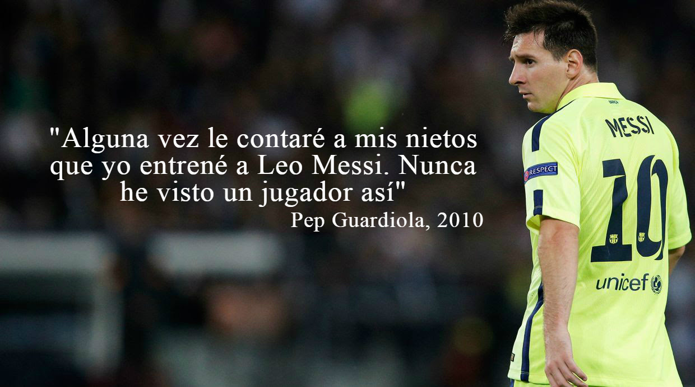 Lionel Messi En Las Mejores Frases De Los Cracks Del Futbol Foto
