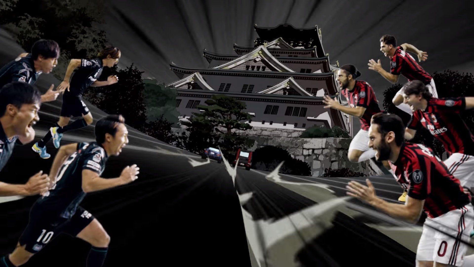 Risultati immagini per AC Milan in Japanimation
