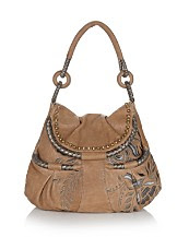 Isabella Fiore Divan Liz Leather Hobo