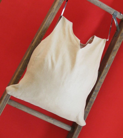 Tan V Reusable Tote/ Bag