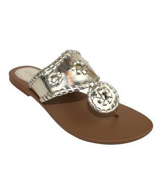 Gold Vercelli Sandal