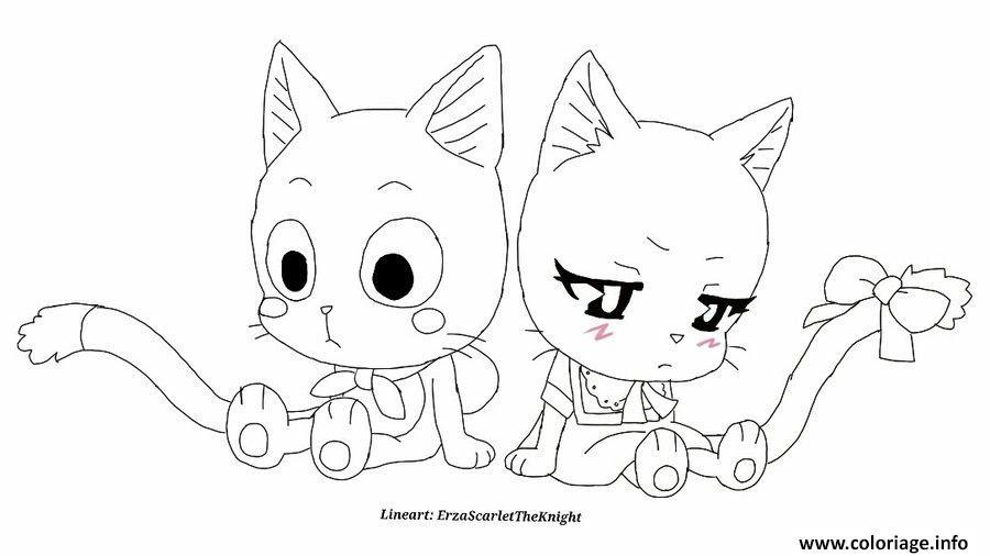 Coloriage Fairy Tail Manga 02 Jecoloriecom