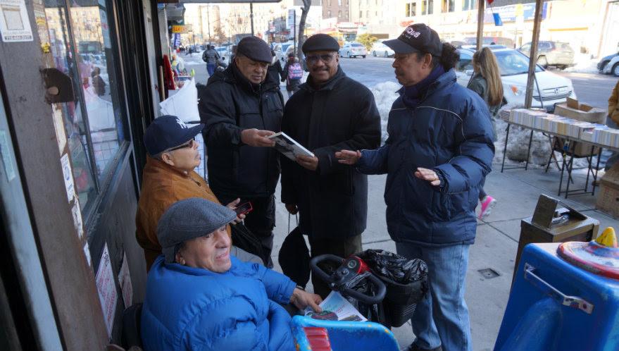 Latinos protestan por altas rentas pequeños negocios