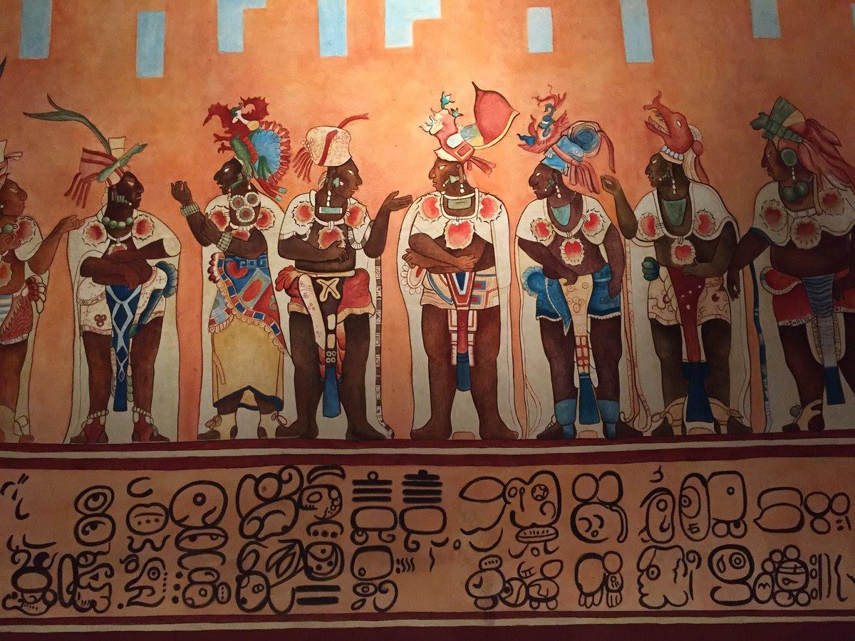 Bonampak Replica De Como Lucian Los Murales De Bonampak En Chiapas
