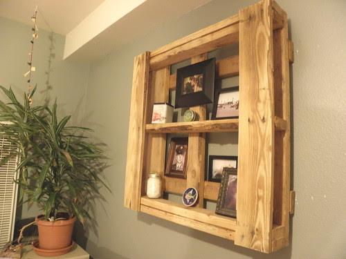 Pallet board Shelves