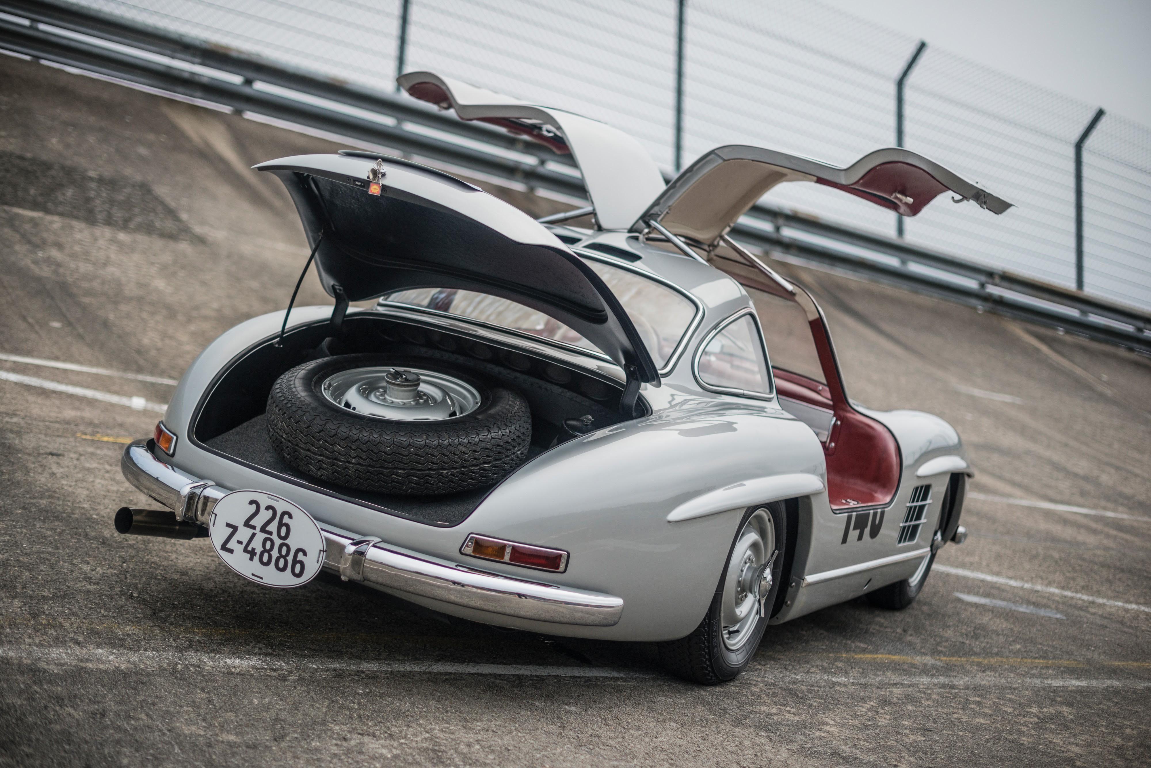 MERCEDES BENZ 300 SL Coupe (W198) - 1954, 1955, 1956, 1957 ...