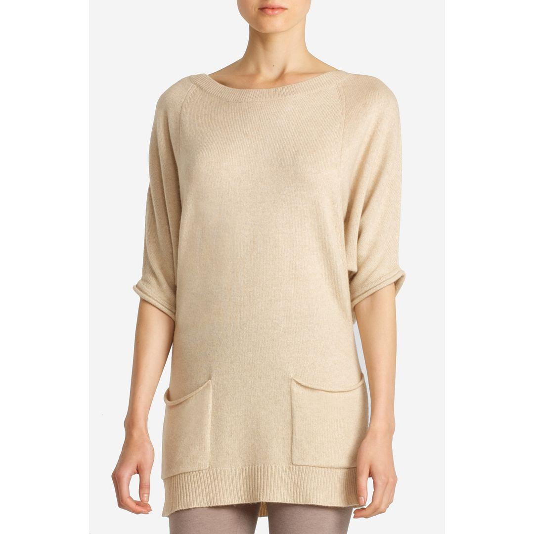 BCBGMAXAZRIA Knit Pocket Pullover