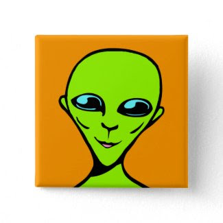 Happy Alien/ET button
