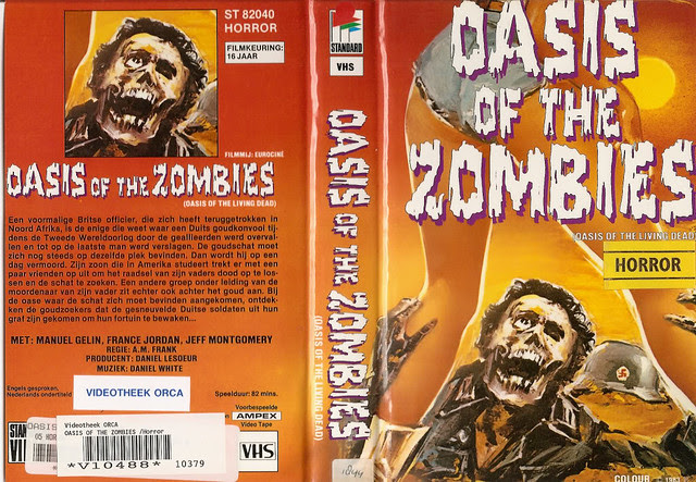 )asis Of The Zombies (VHS Box Art)