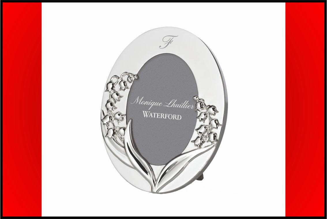 Waterford Monique Lhuillier Waterford Lily Of The Valley Oval Vanity
