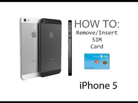 iphone    insertremove  sim card youtube