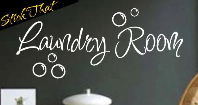 Popular items for laundry room vinyl on Etsy