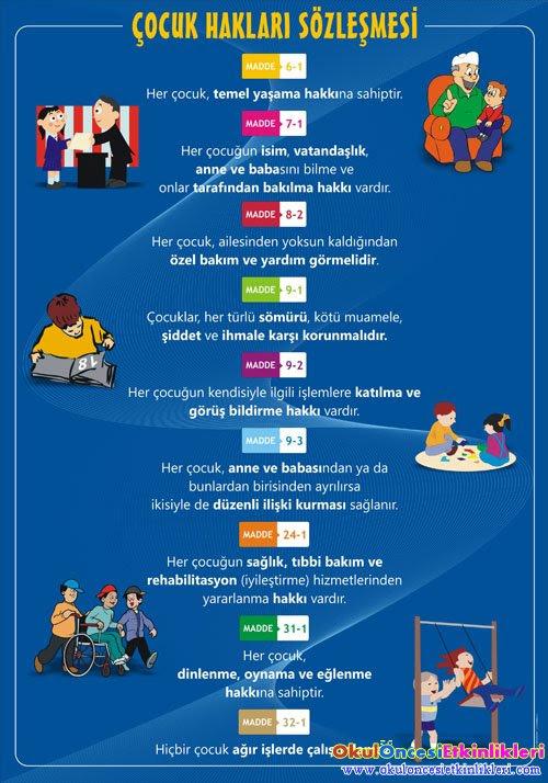 çocuk Hakları Günü Etkinlik Ve Sloganları Okul öncesi Etkinlikleri