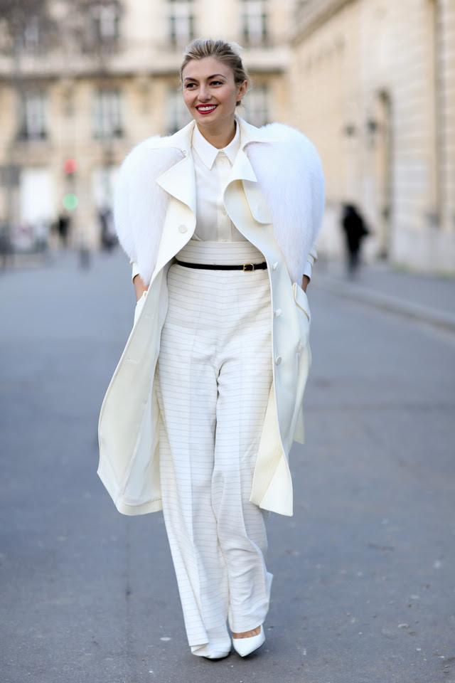 Неделя моды в Париже A/W 2014: street style. Часть III (фото 12)
