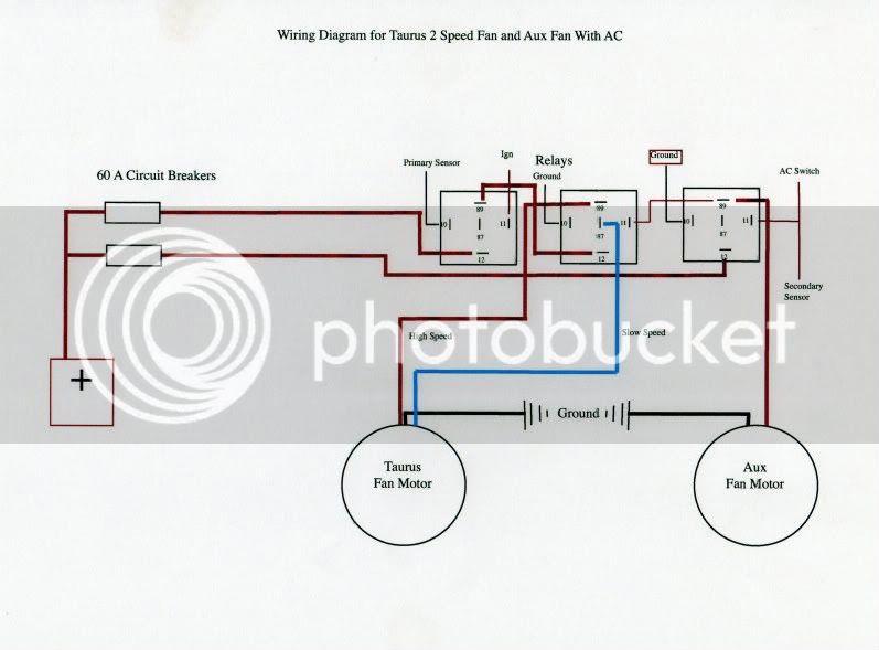 Ford Tauru Electric Fan Wiring Diagram - Wiring Diagram