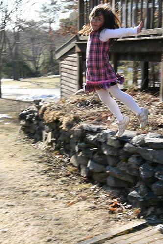 Dova jumps gracefully