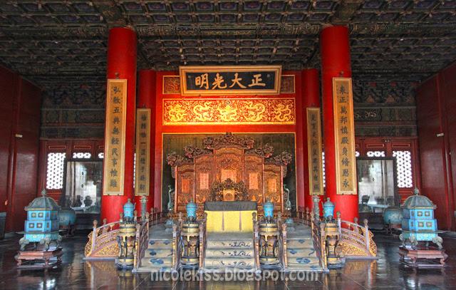 Palace, Forbidden City, Beijing